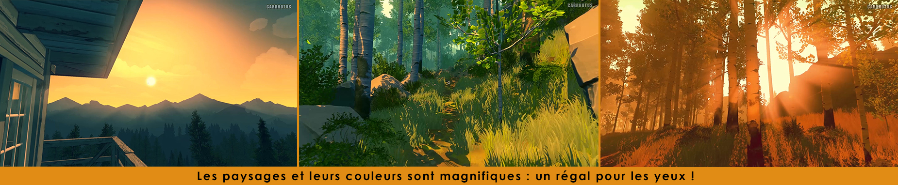 firewatch paysages
